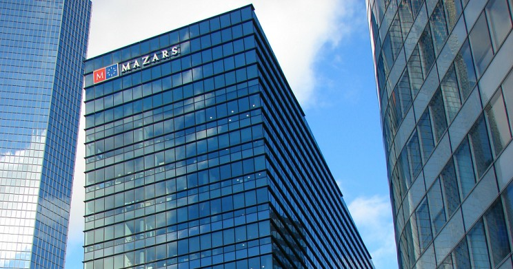 Mazars UpSlide Biggest and Best Accounting Firms in the World
