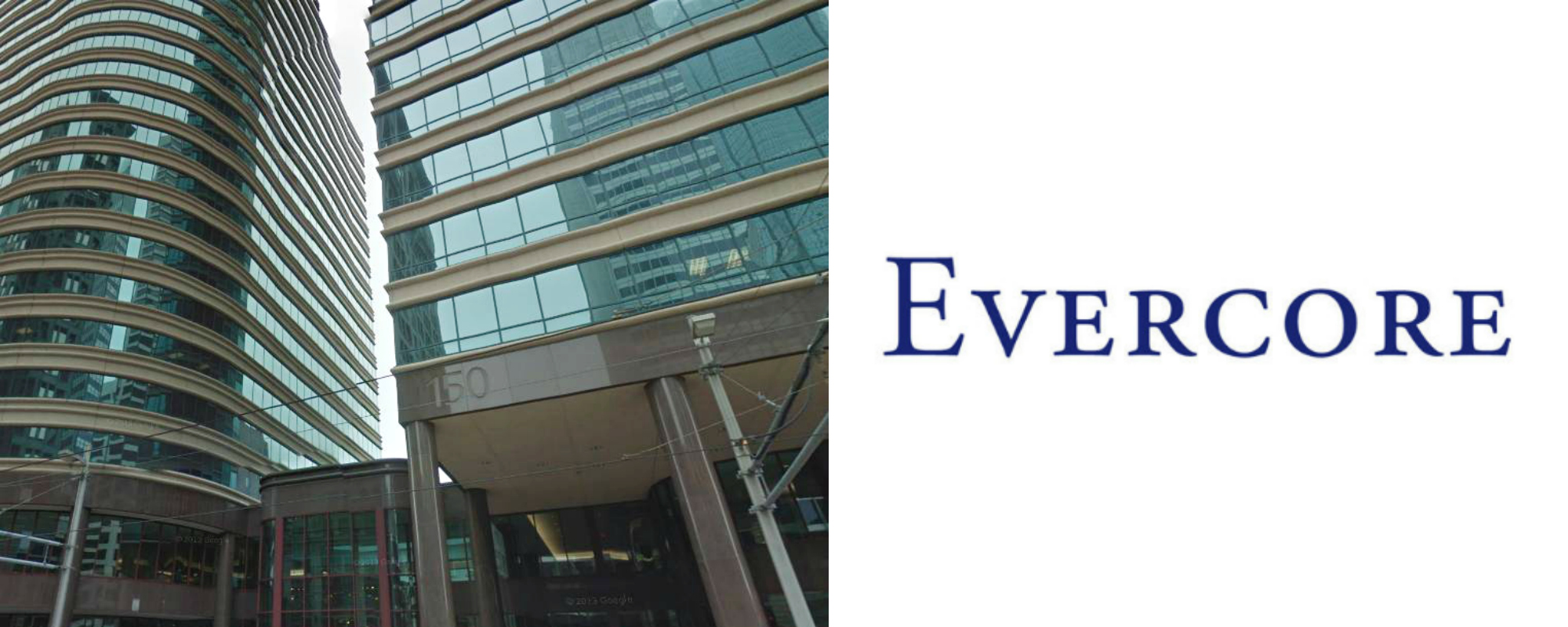 Evercore banner Most Powerful M&A Firms in the world best upslide