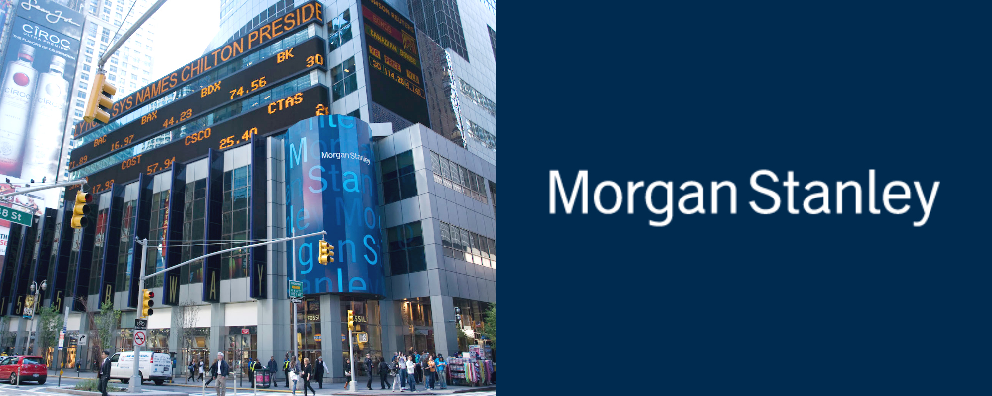 Morgan Stanley Most Powerful M&A Firms in the world best upslide