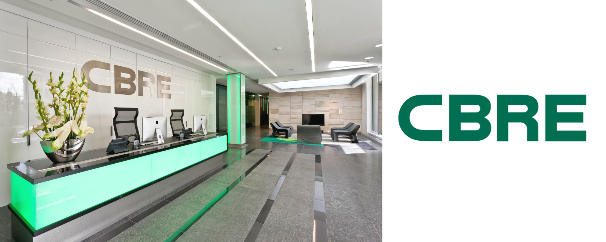 CBRE Banner Most Powerful M&A Firms in the world best upslide
