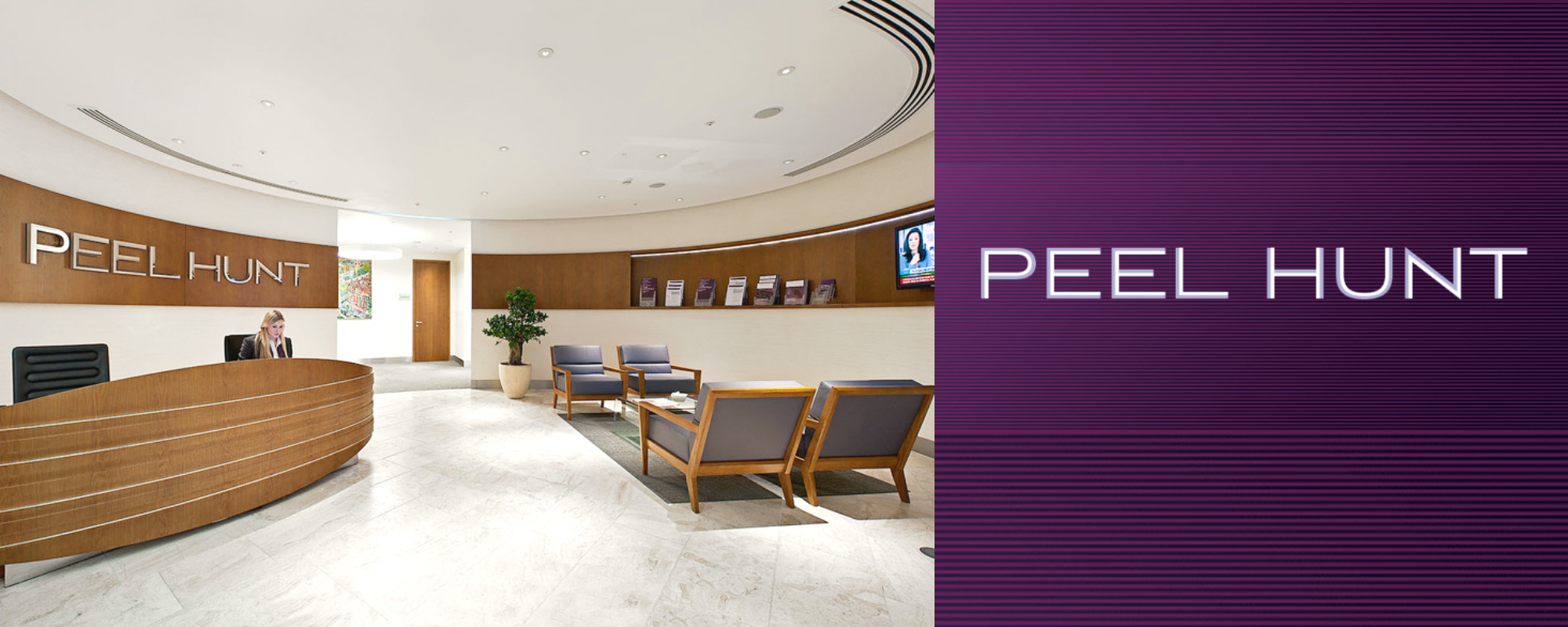 Peel Hunt Banner Most Powerful M&A Firms in the world best upslide
