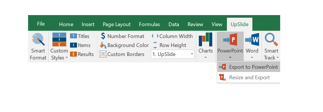 Link excel to powerpoint in one click with upslide the smart excel link allows full accuracy and helps you collaborate with the team when doing complex analysis and reports ccuart Gallery