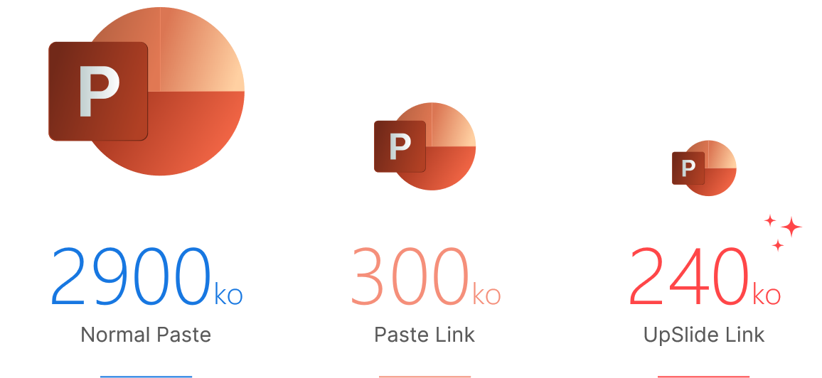 reduce powerpoint file size with UpSlide