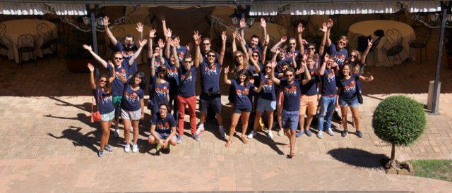 UpSlide Best Place to Work Happy at Work Start Up Seminar Rome Hotel