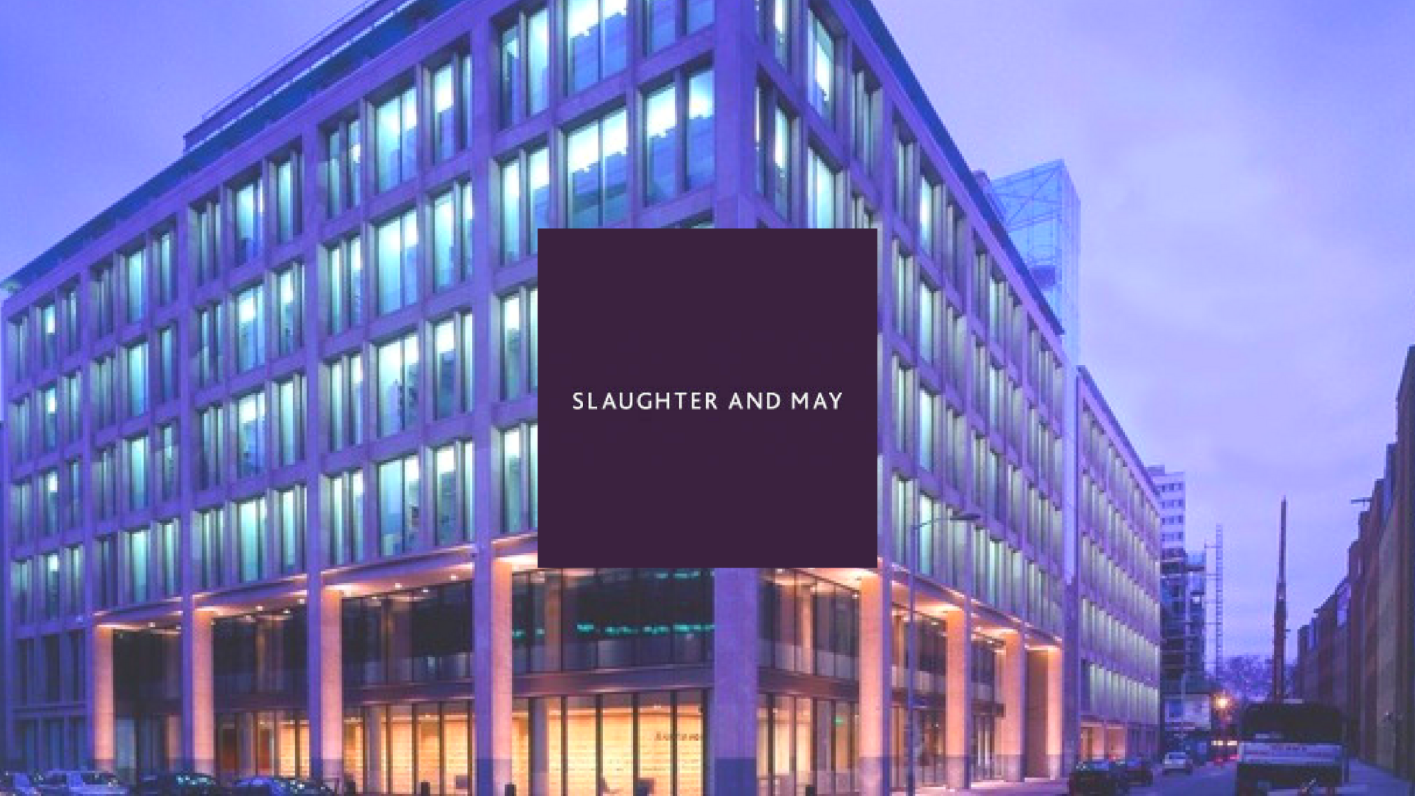Slaughter & May Best Law Firms in the World UpSlide