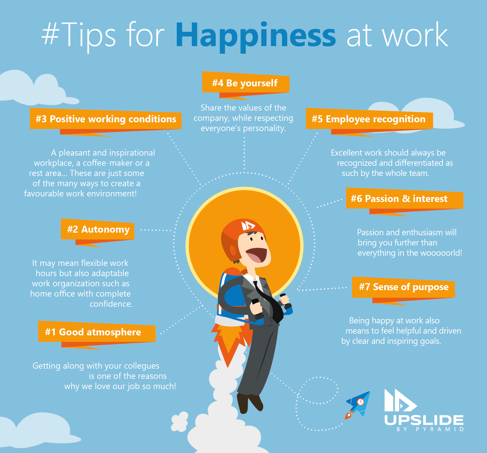 Tips for Happiness at Work