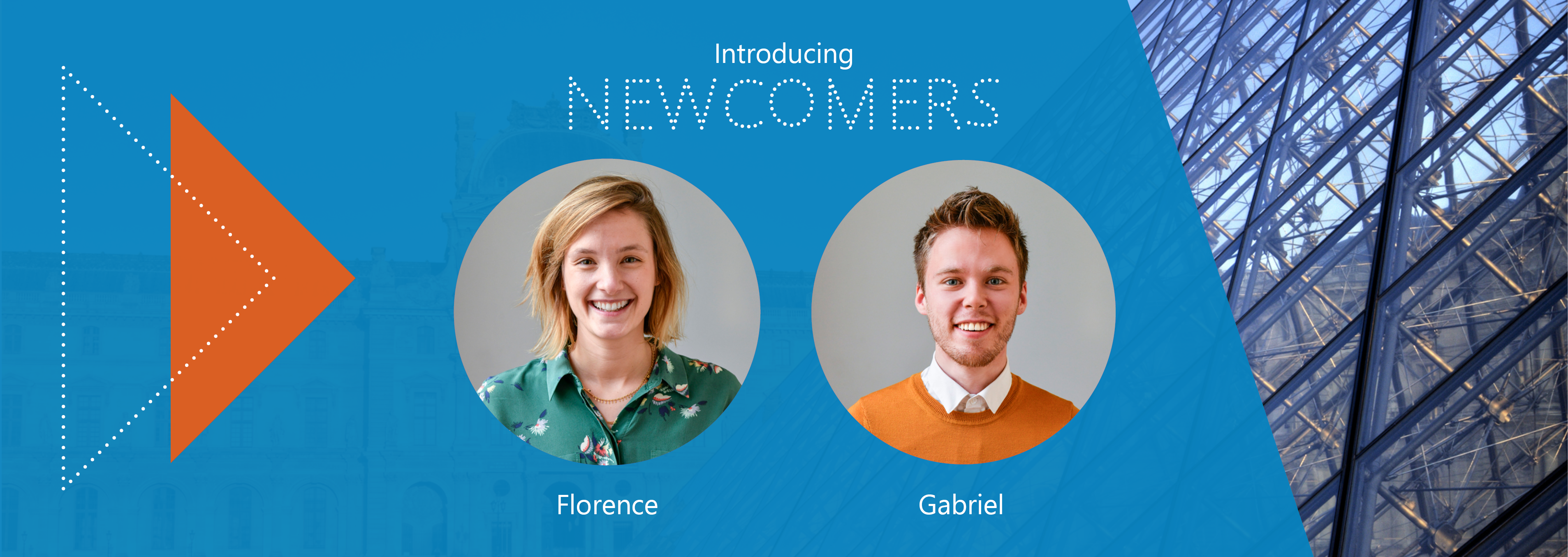 Welcome Florence and Gabriel