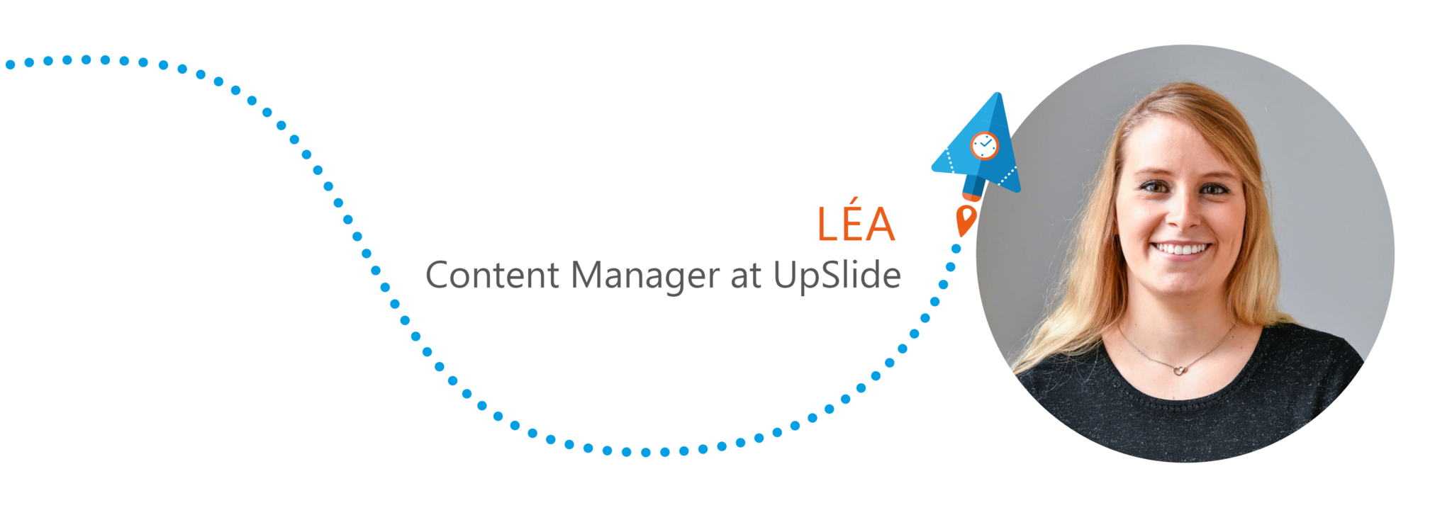 Welcome Léa, Content Manager