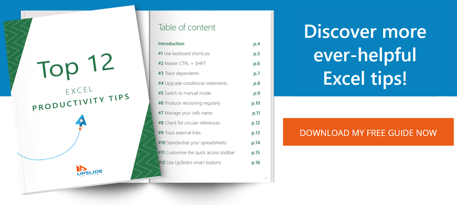 Download the free Excel guide