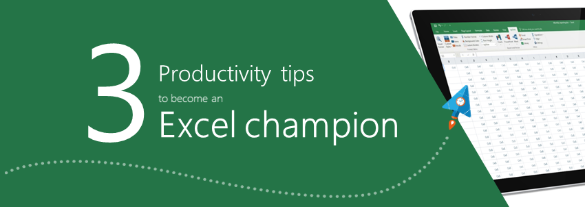 Excel Productivity Tips