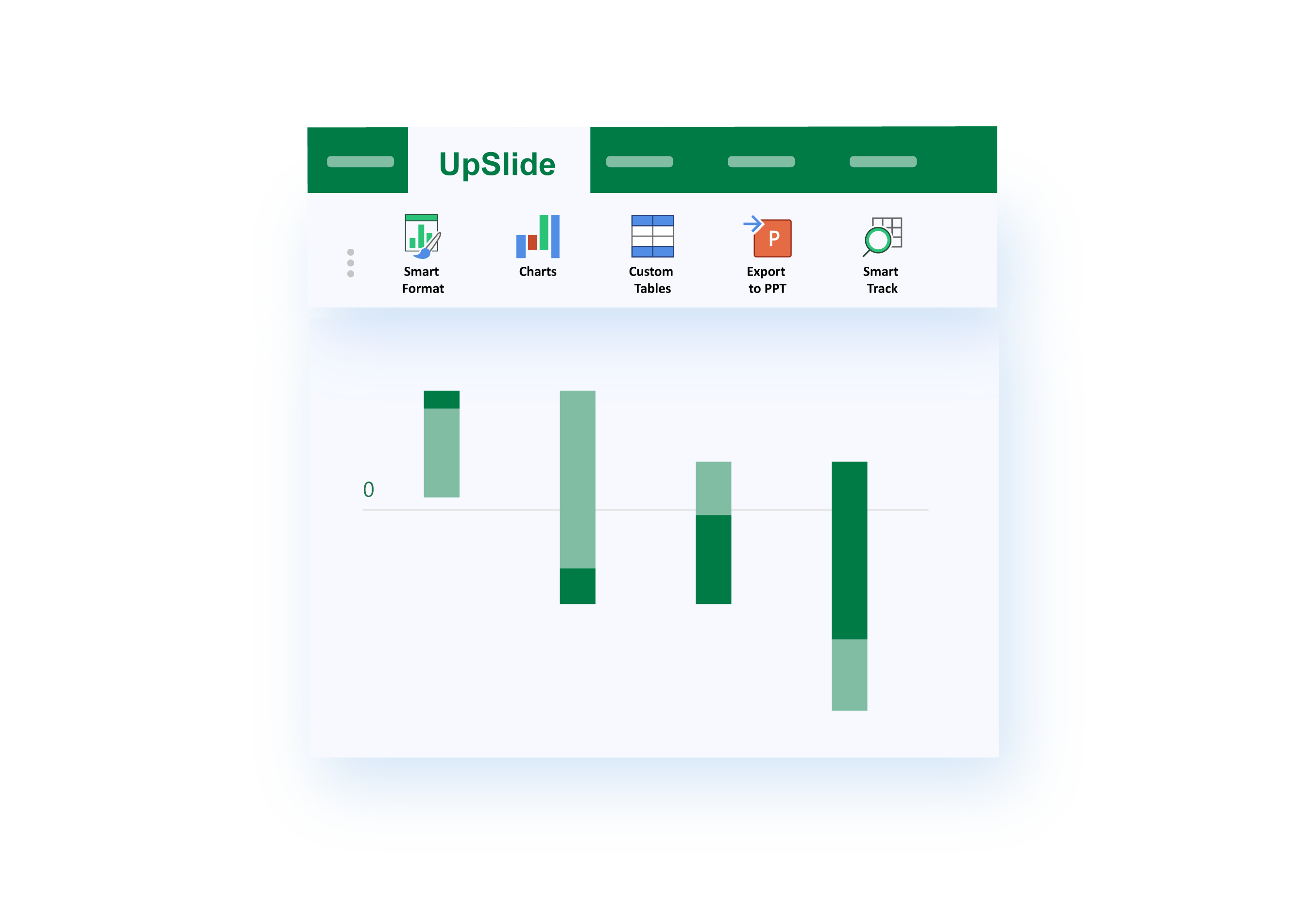 Waterfall Chart Upslide Leading Add In For Microsoft Excel