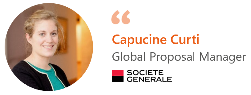 Capucine Curti, Société Générale