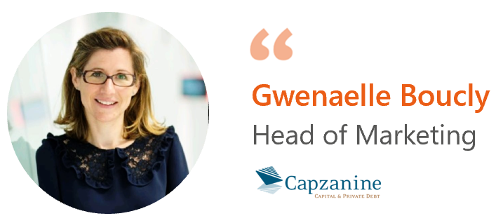 Gwenaelle Boucly, Capzanine