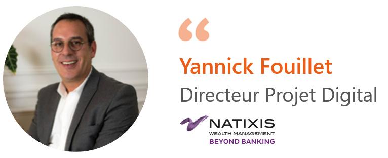 Yannick Fouillet, Natixis