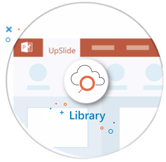 UpSlide Library feature