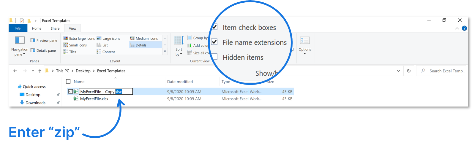 reduce-excel-file-size-zip-format-tip
