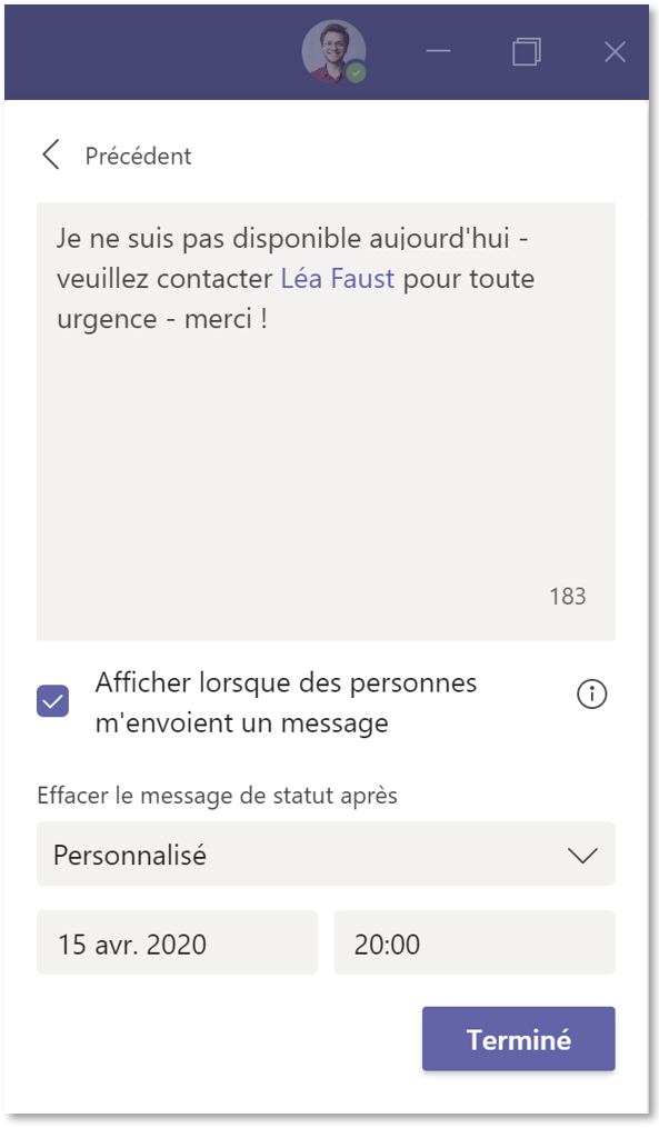 message-absence-microsoft-teams-2021