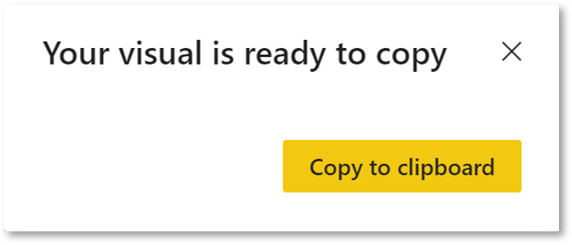Copy paste a visual from PowerBI to PowerPoint