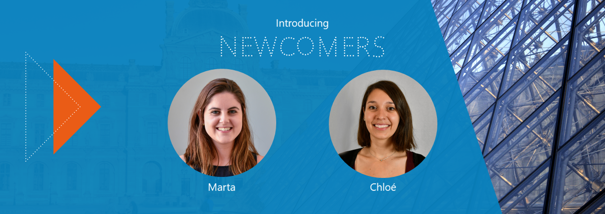 Welcome to Marta and Chloé