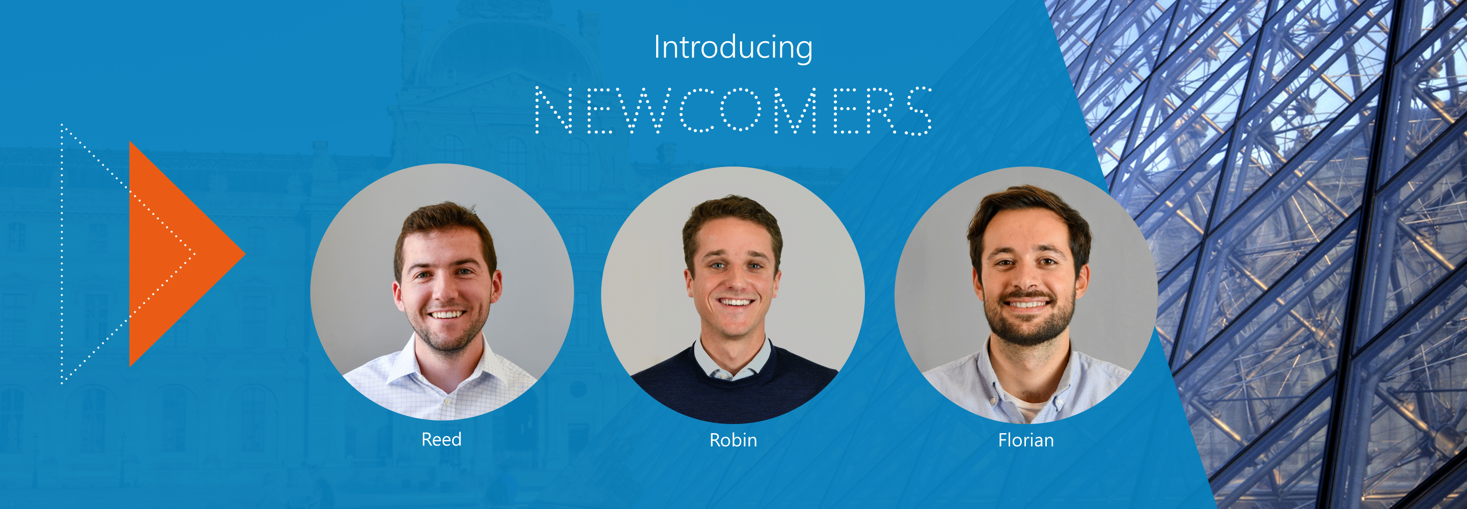 Welcome to Robin, Reed and Florian