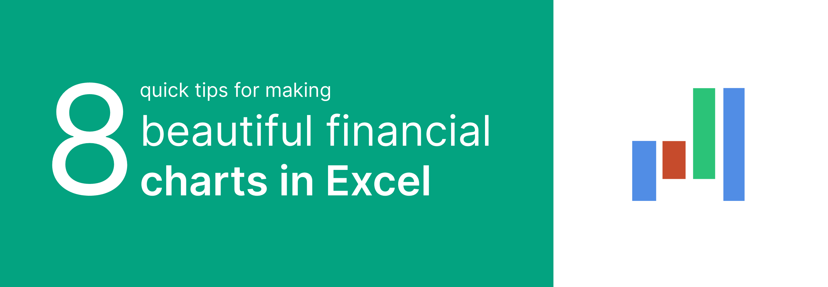 8 ways to make beautiful financial charts and graphs in excel 2021